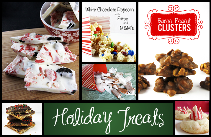 Holiday Treats RoundUp | www.EatLaughPurr.com #HolidayCookies #HolidayTreats #ChristmasCandy