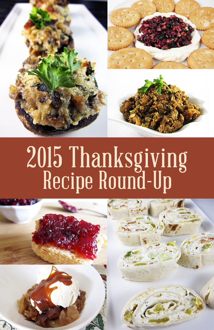 2015 Thanksgiving Recipe Round-Up – Full of great, easy options from creamy mashed potatoes, to pumpkin bread with cream cheese to Snickers Ice Cream pie with caramel sauce. You'll find lots of tempting dishes your family and friends will gobble up on Thanksgiving.