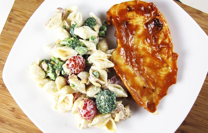 Ranch Bacon Pasta Salad