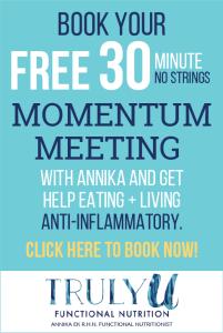 Book Momentum Meeting with Annika