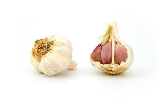 garlic bulb with cloves