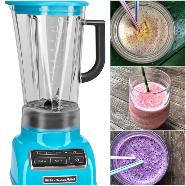 kitchen aid blenders center island smoothie all the things a canadian giveaway eat live travel kitchenaid diamond blender and smoothies