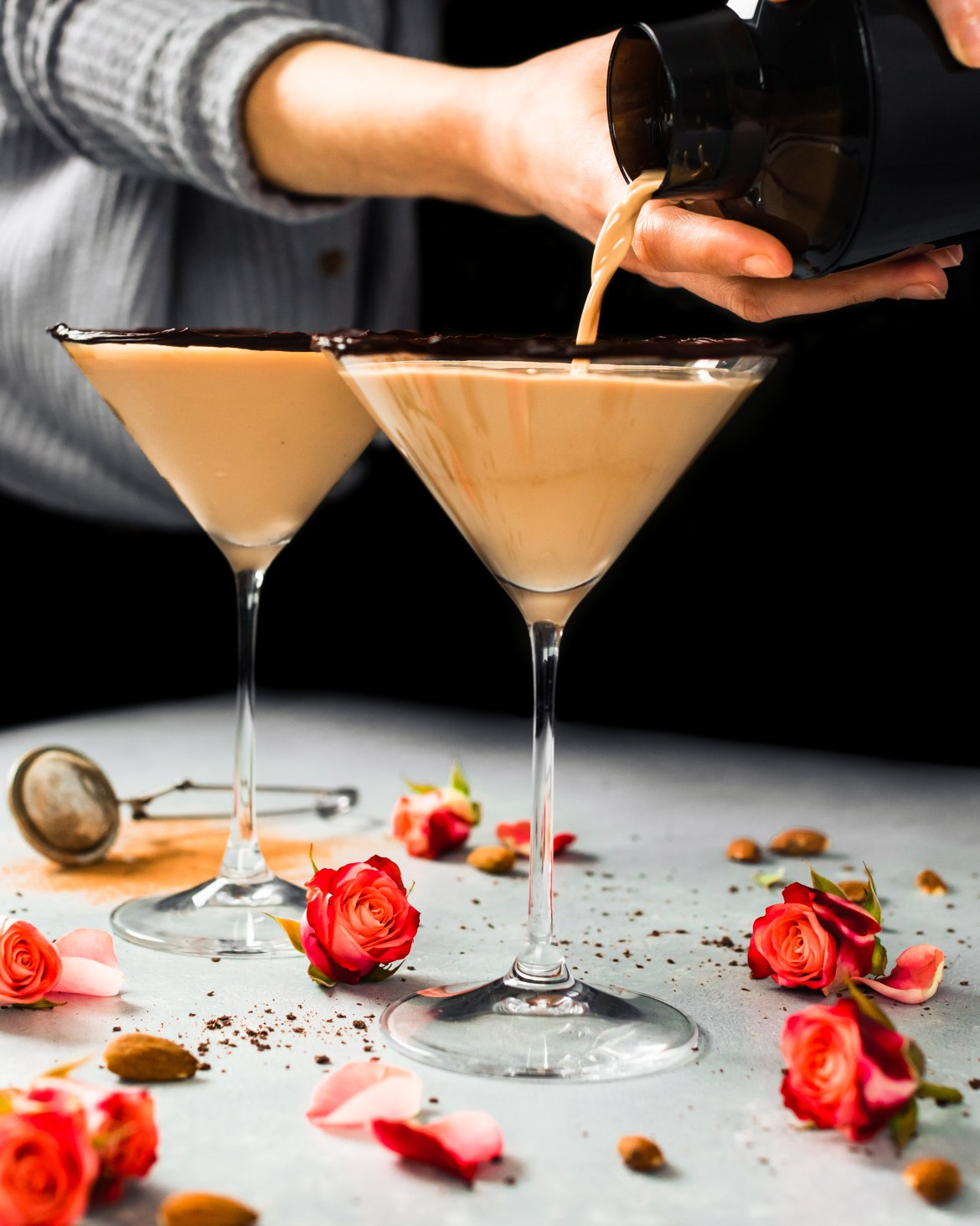 The best Chocolate Almond Martini for a special occasion