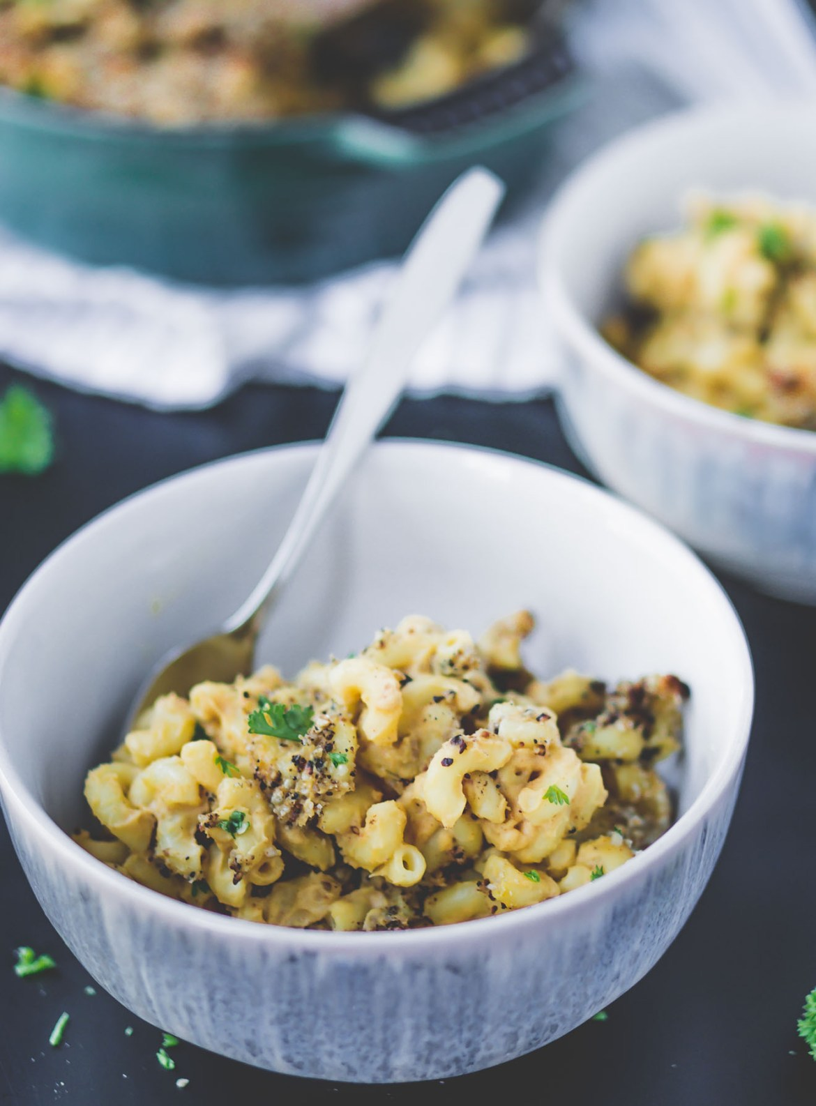 Protein-Packed Macaroni Sans Cheese-completely plant-based and nutritious!
