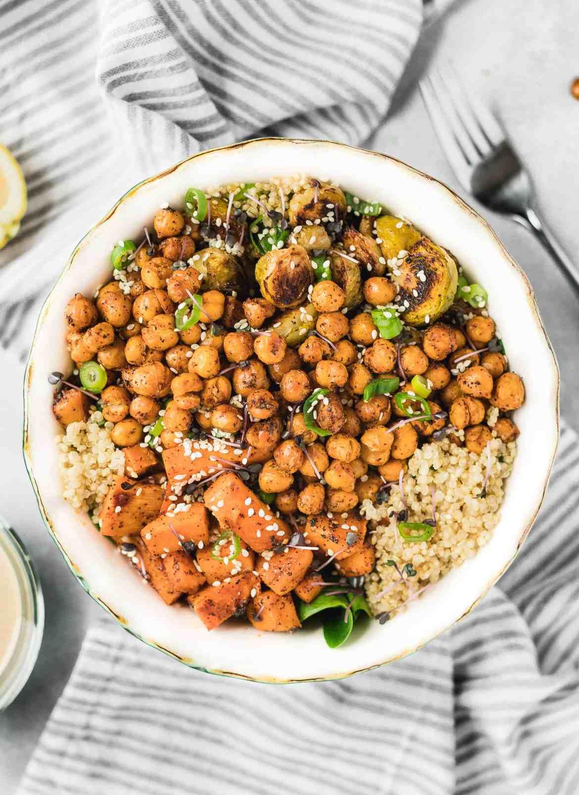 A Simple & Tasty Winter Buddha Bowl by Eat. Love. Namaste.