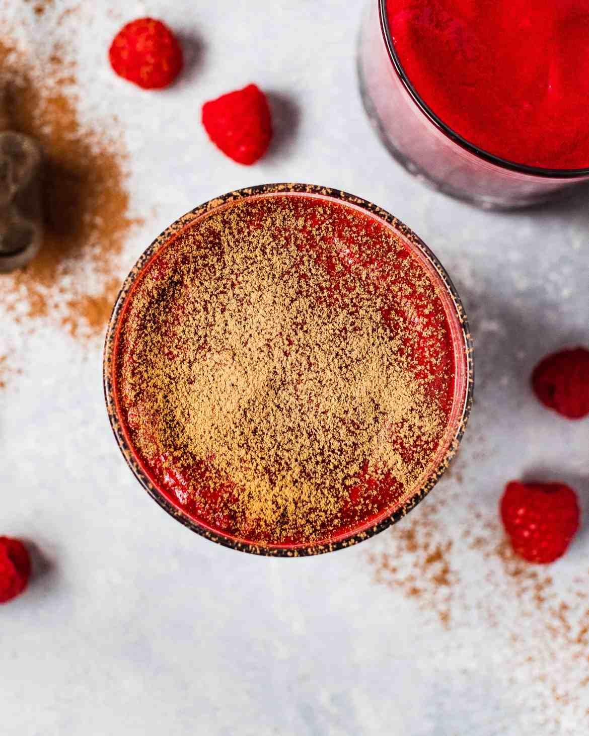Velvety Beetroot & Raspberry Smoothie