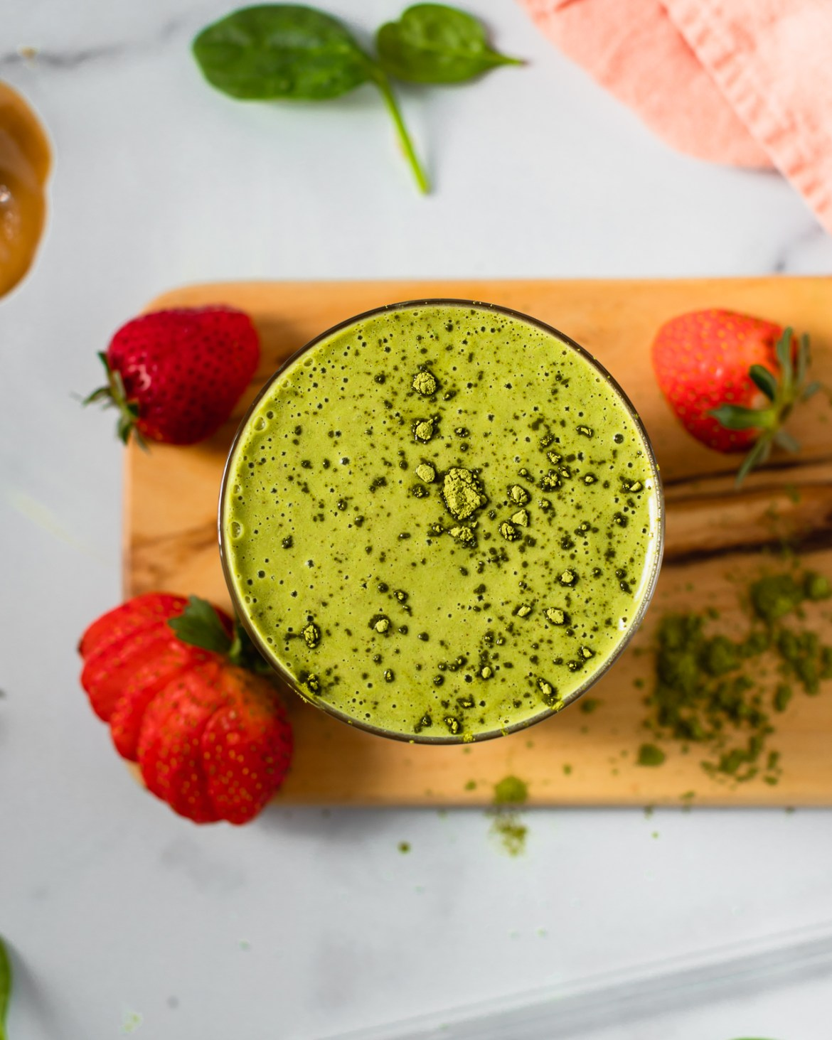 healthy matcha smoothie