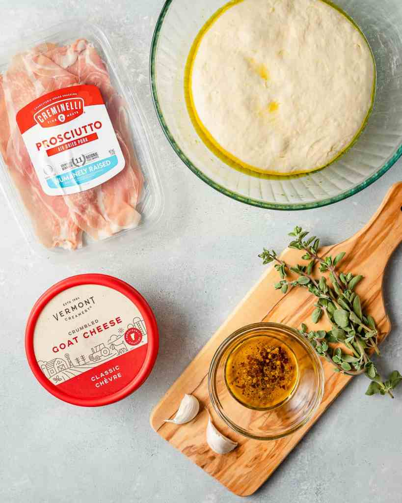 Goat Cheese Pizza Ingredients