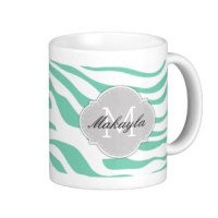 custom monogram coffee mugs