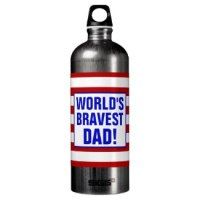 world's bravest dad coffee mug