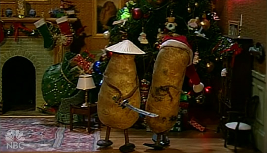 The Potato Christmas Special from Late Night with Conan O