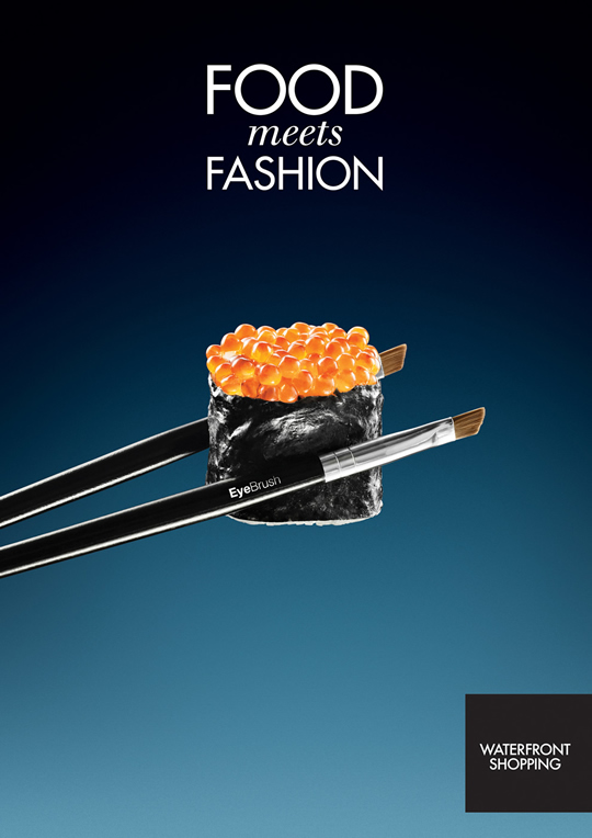 Food Meets Fashion advertising  Eat Me Daily