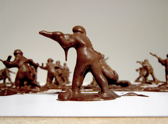 ChocolateCovered Toy Soldiers by Stephen J Shanabrook