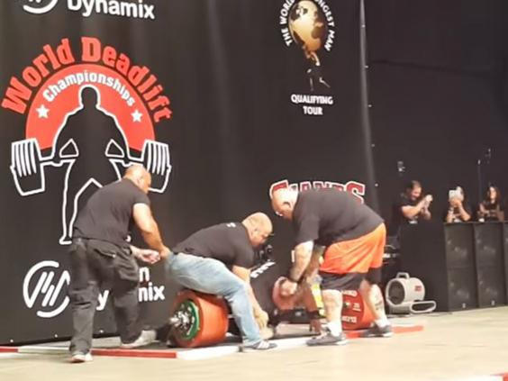 Eddie Hall Almost Died Immediately After Setting A New Deadlift