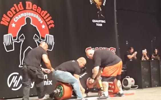 Eddie Hall Almost Died Immediately After Setting A New Deadlift World Record