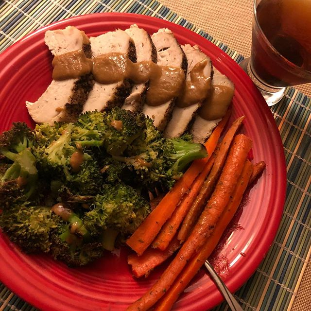 "Winner winner ""turkey"" dinner? Hahaha. Fueling up before we head out to dig out from this 'nor'easter. Protein to build muscle, carbs to keep you going and a #Manhattan to keep you warm. You do you!  For individualized performance and nutrition coaching DM us or follow the link in our bio and Start Today! #eatmorebefit #dinner #noreaster #blizzard #snow #wednesday #turkey #bourbon #protein #carbs #alcohol #humpday #iifym #macros #flexibledieting #flexibleeating #diet #exercise #workout #snowday #snowflake #teamembf"