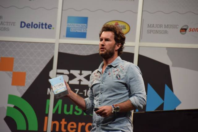 TOMS Founder Blake Mycoskie Announcing TOMS Roasting Co.