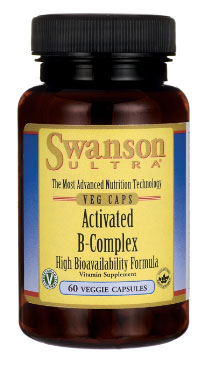 Image of Bottle of Swanson Ultra Activated B-Complex