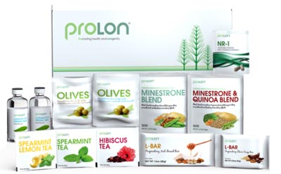 Image of Prolon Fast Mimicking Diet food, vitamins and minerals.