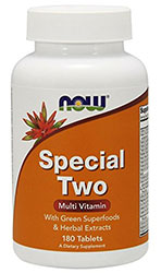 Image of bottle of Now Special Two multivitamin.