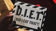 Sign That Says D.I.E.T. - Did I Eat That