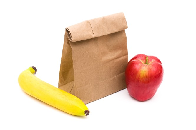 make your own paper bag lunches
