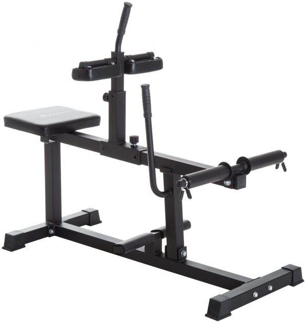 Soozier Adjustable Steel Seated Raise Exercise Strength Training Gym Equipment