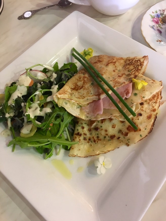 French Crepe's at La Baguette Cafe