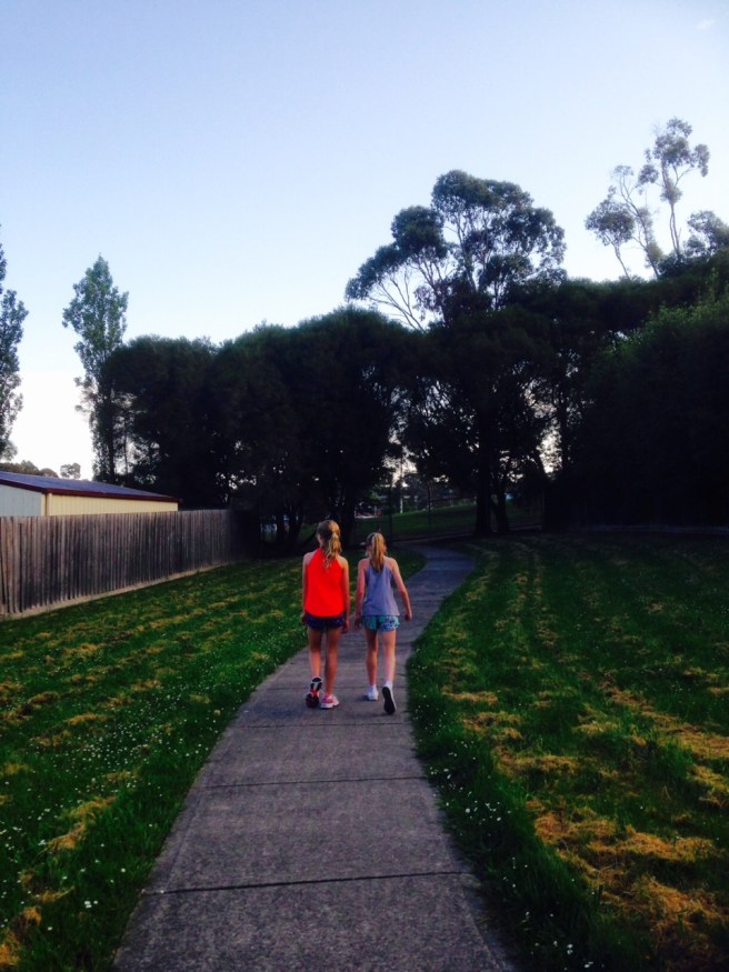 walking with my daughter When mothers fail