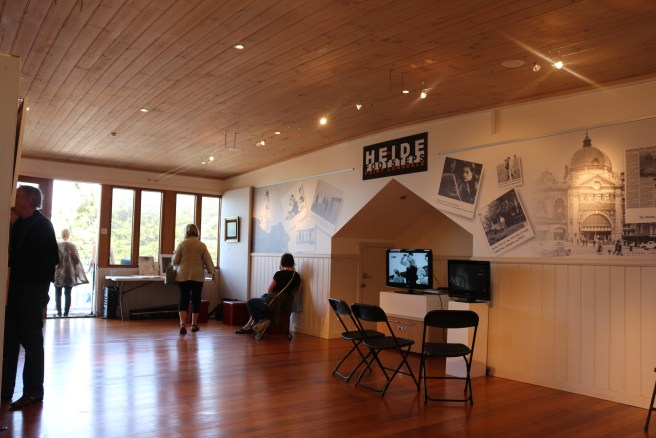 Tussock Upstairs Gallery Heide Footsteps Exhibition