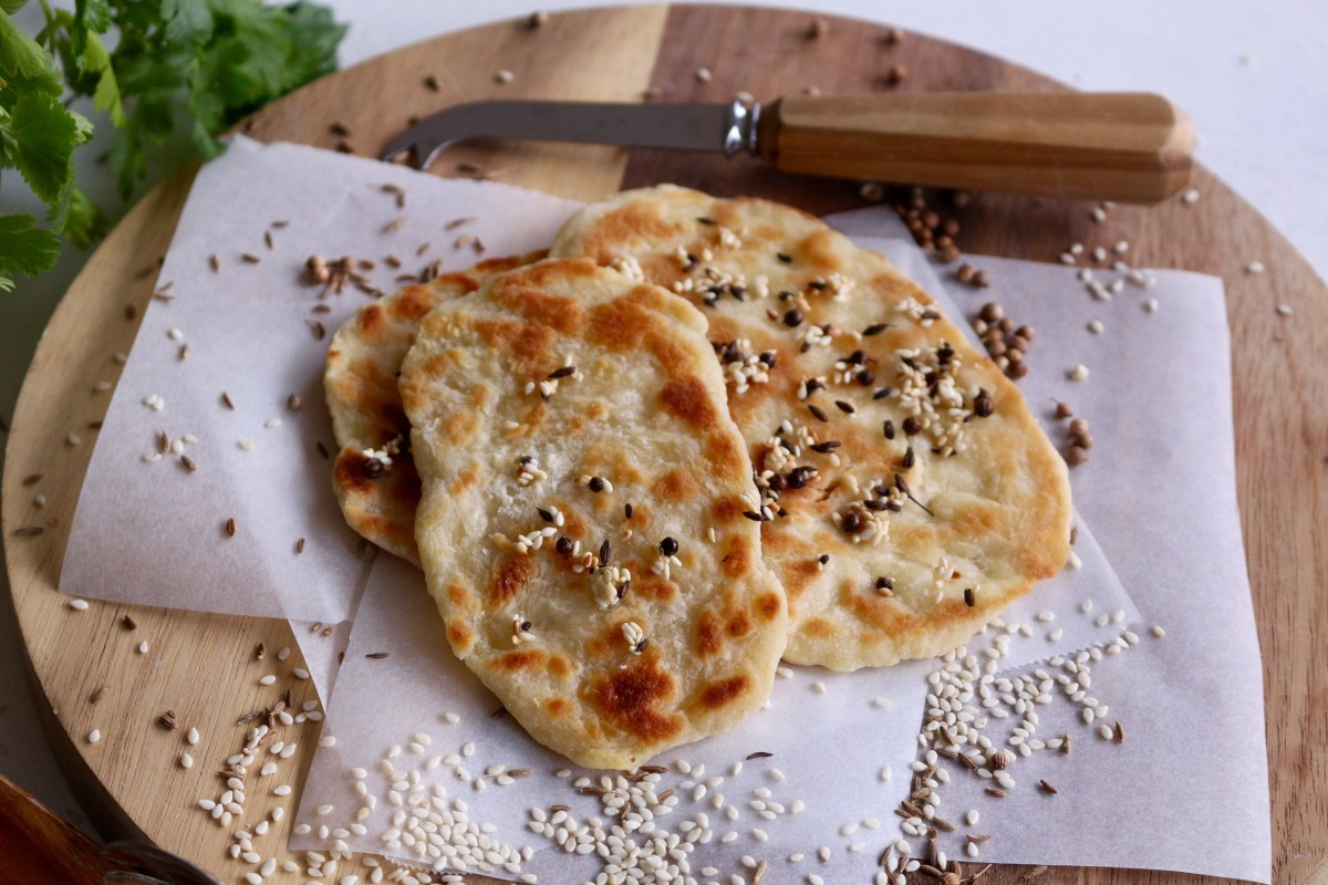 Two Ingredient Flatbread Recipe