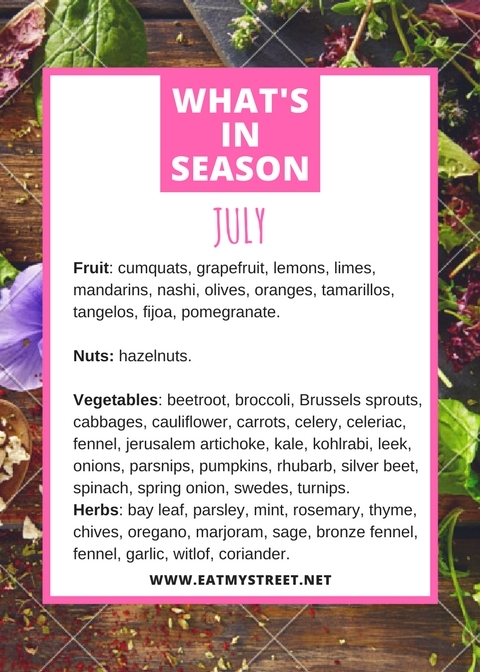 What's in Season in July
