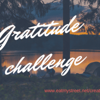 Create the happy 31 days of gratitude challenge.