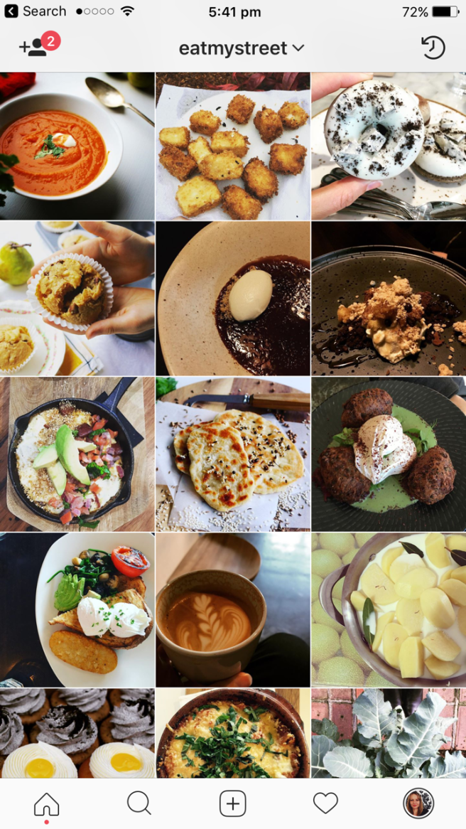 Melbourne foodies on Instagram Eat My Street