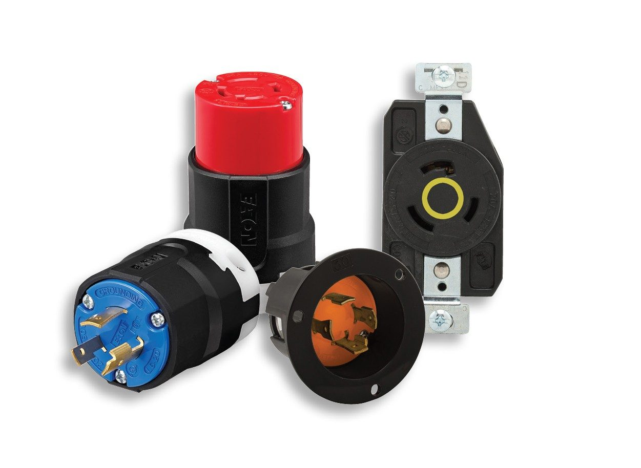 hight resolution of  six voltage rating colors from the international electrical code iec 60309 standard to locking devices enhancing safety and productivity by making it