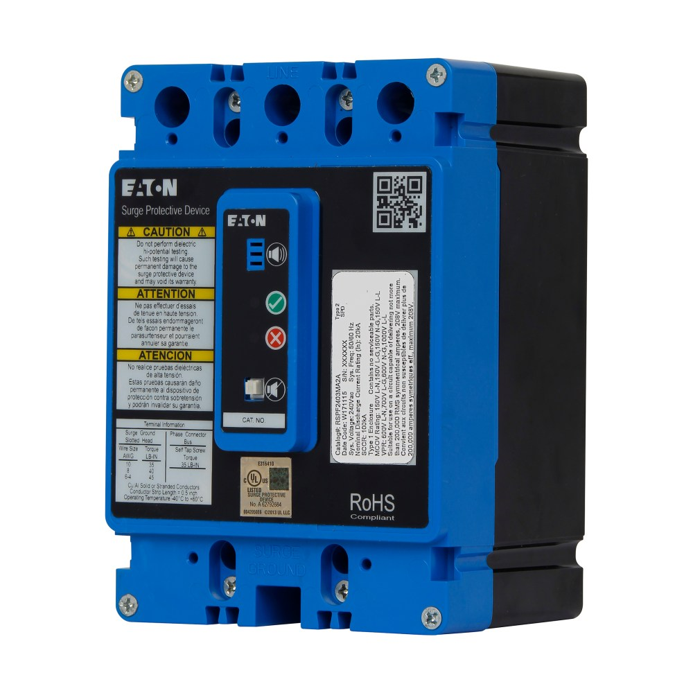 medium resolution of built for installation directly into a panelboard or switchboard without any modifications the rspf has configurations compatible with all common voltages