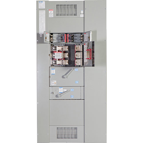 hight resolution of fusible panelboard and switchboard switches