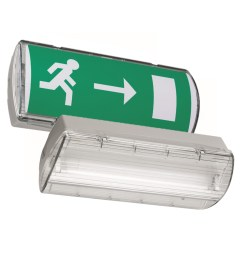 go to atlantic self contained safety exit sign [ 1500 x 1500 Pixel ]