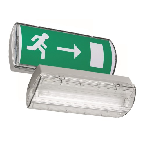 small resolution of go to atlantic self contained safety exit sign