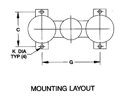 Duplex Model 50 5-8 inch Industrial Basket Strainers