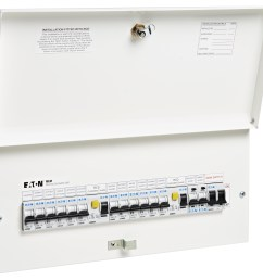 eaton s new full metal consumer units comply with 17th edition wiring regulations amendment 3 [ 4776 x 4224 Pixel ]