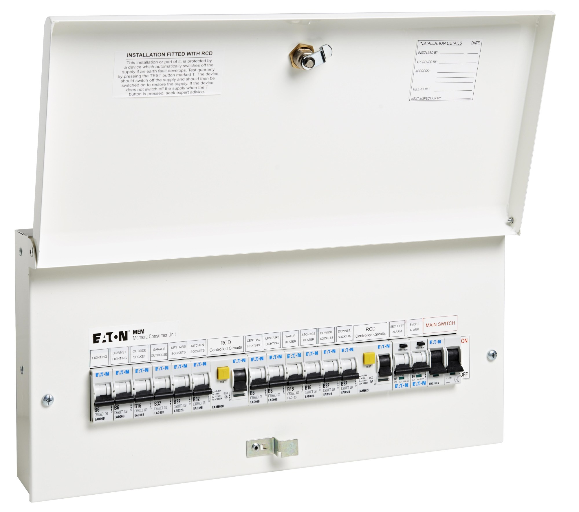 hight resolution of eaton s new full metal consumer units comply with 17th edition wiring regulations amendment 3