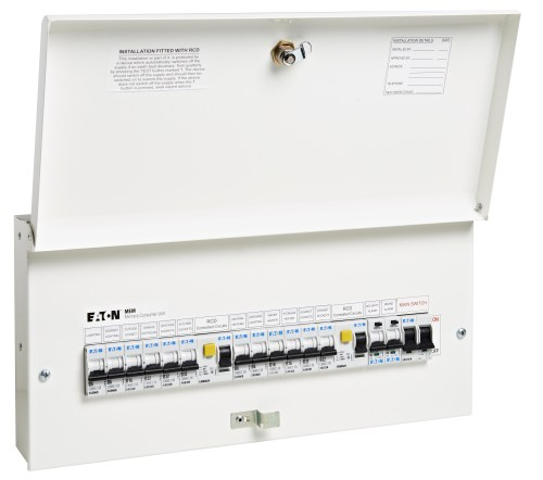 small resolution of eaton s new full metal consumer units comply with 17th edition wiring regulations amendment 3
