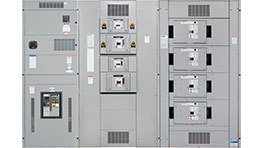 drawout moulded case switchboards