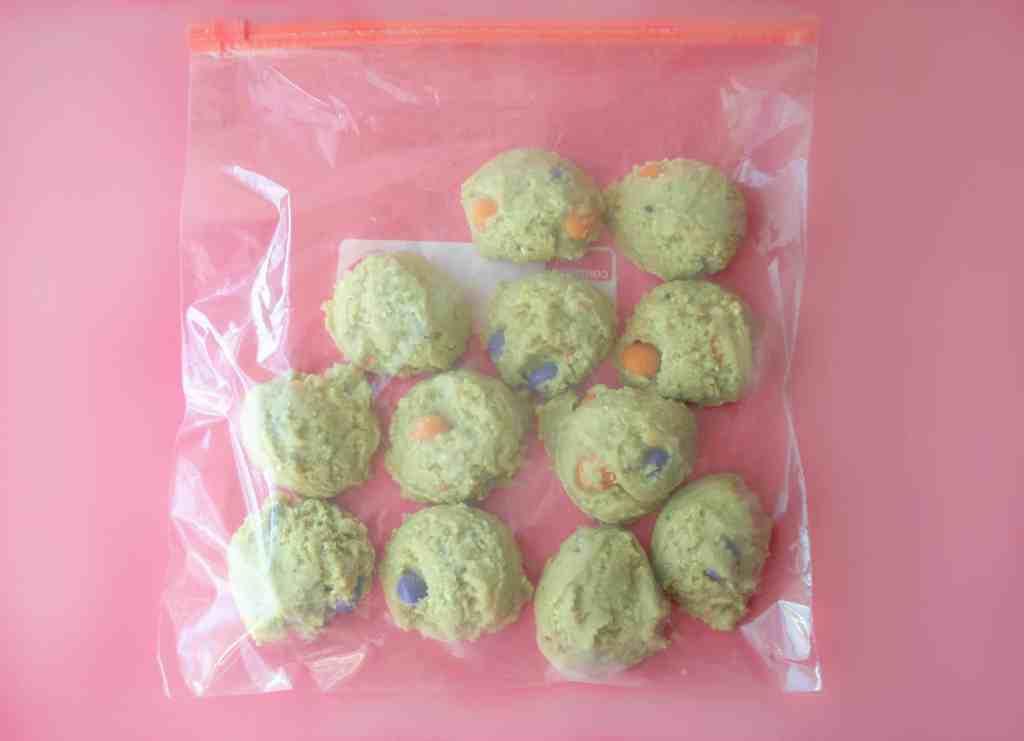 frozen gluten free cookie