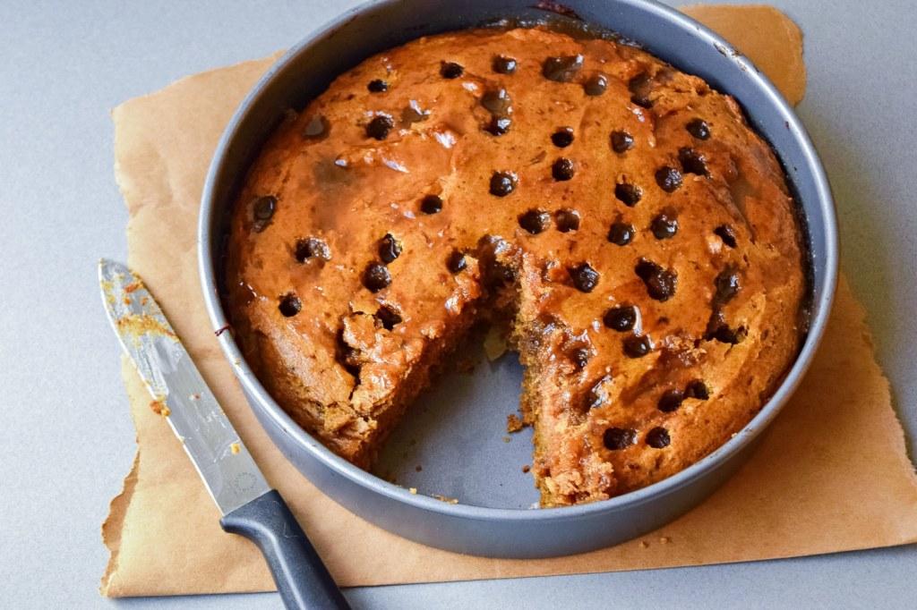 sticky date cake gluten free vegan breakfast dessert