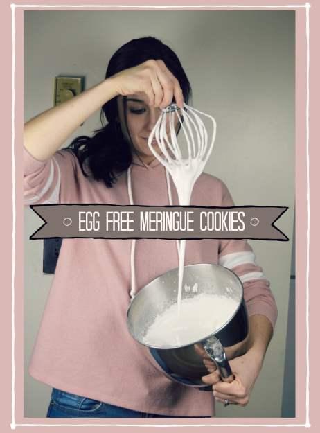 egg free and vegan meringue