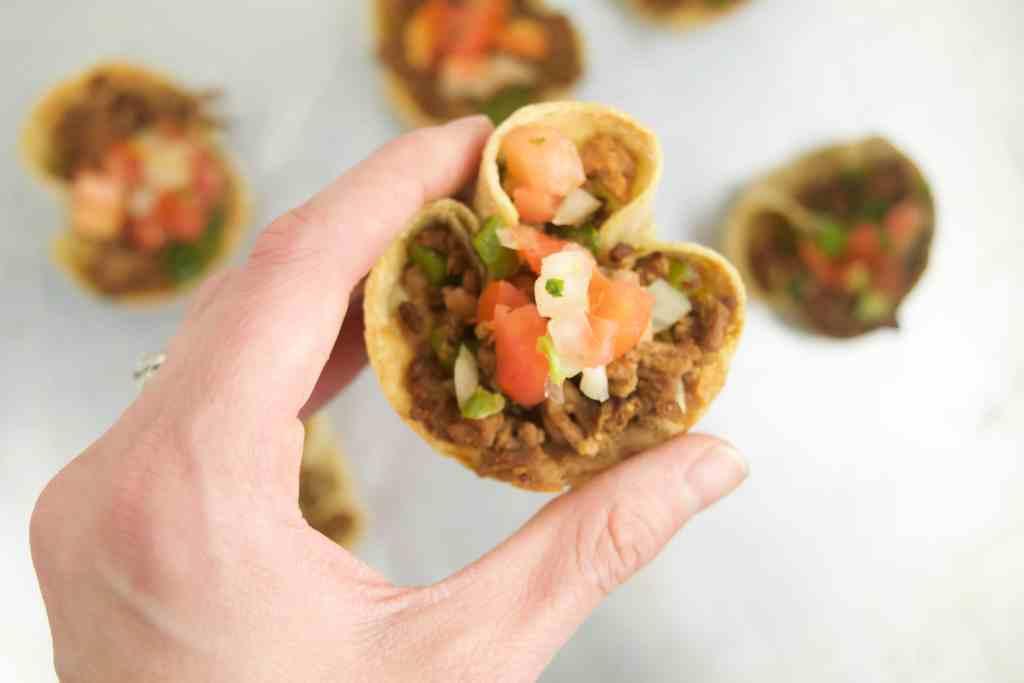 soy free mini taco