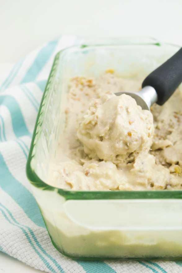 dairy free maple walnut ice cream