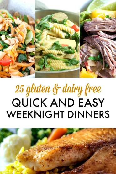 25 quick and easy weeknight dinners